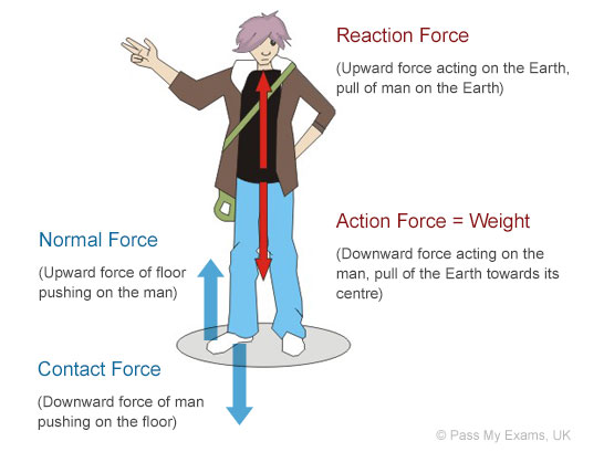 What Are Forces Examples Of Forces Pass My Exams Easy Exam